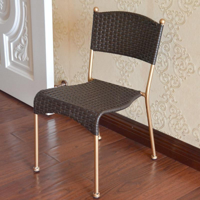 【溢彩年华椅子/凳子】溢彩年华仿藤手工编制舒适靠背
