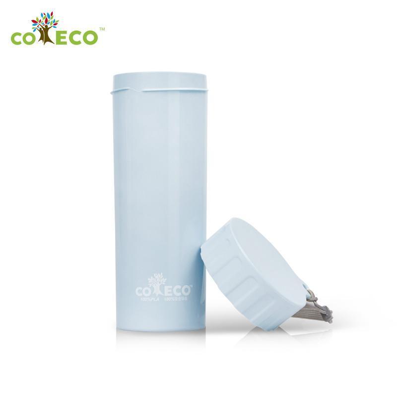 可爱客 coeco艾里德 玉米材质杯子水杯 450ml随身杯 蓝色高清实拍图