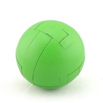 木质孔明锁鲁班锁 亲子互动成人智力游戏玩具【圆球