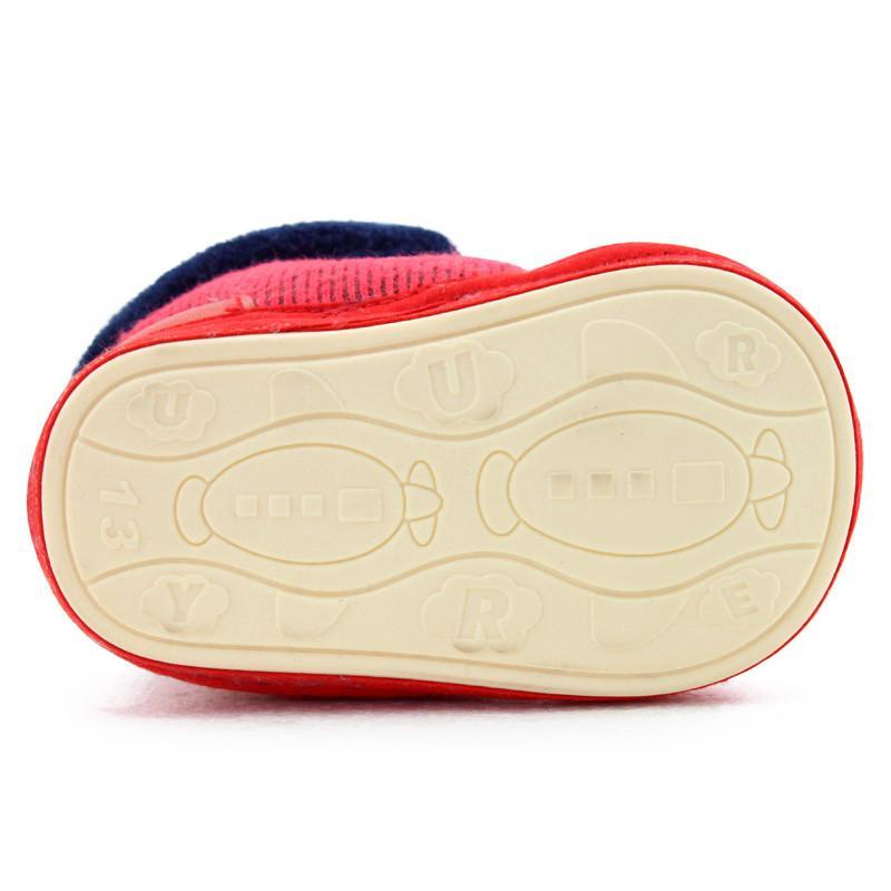 宝宝学步棉鞋的做法与图解