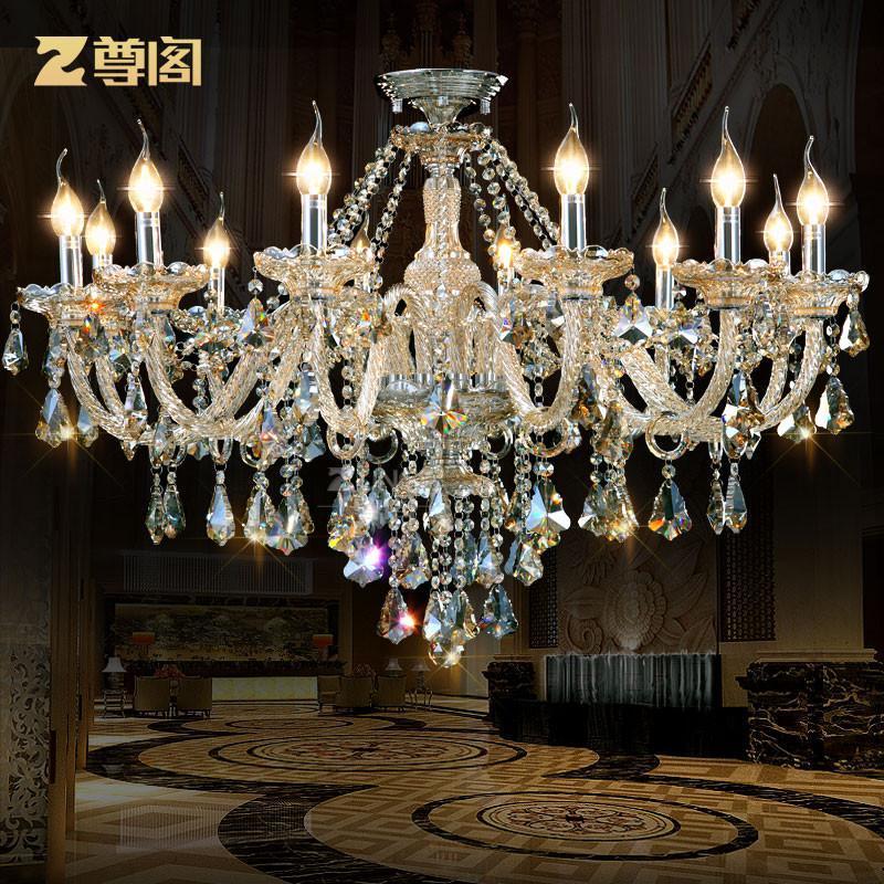 奢华水晶吊灯 欧式客厅卧室餐厅灯