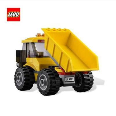 包顺丰lego乐高积木拼装玩具city城市系列采矿装载机和翻斗车4201