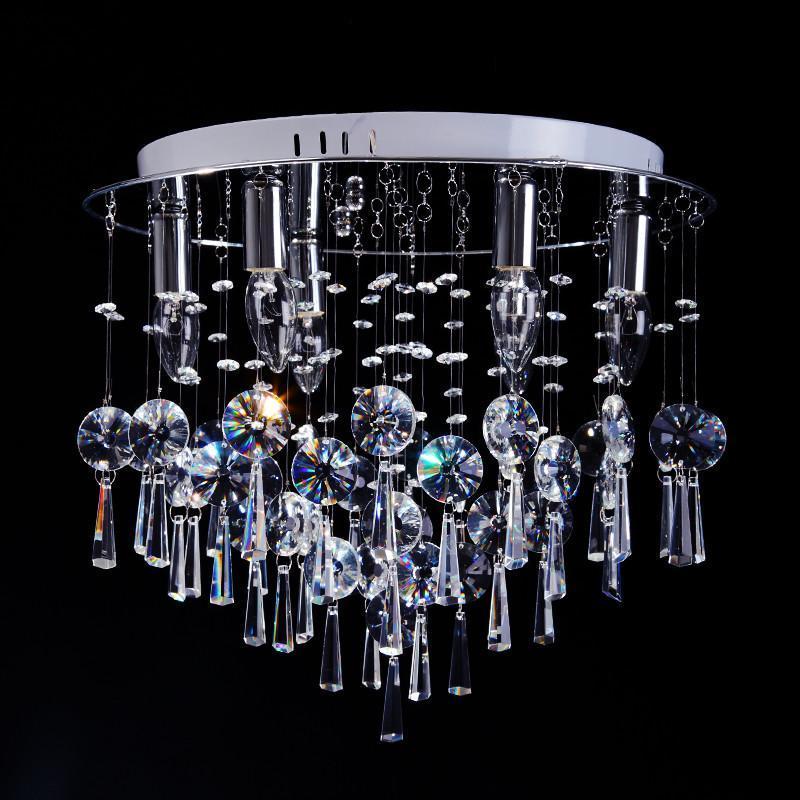 尊阁豪华进口水晶吸顶灯 欧式客厅卧室餐厅吊灯饰z015 标准11头高清