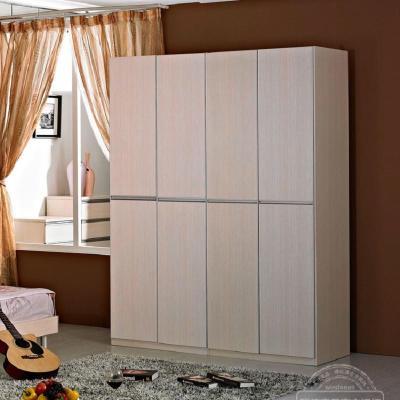 欧式现代简约整体组合移门四门衣柜 衣橱特价 五门衣柜