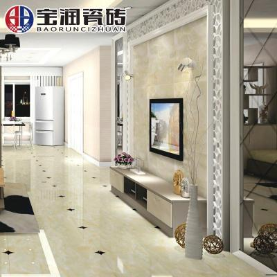 宝润瓷砖 微晶石地砖800x800防滑地板砖客厅电视背景墙欧式美斯玉