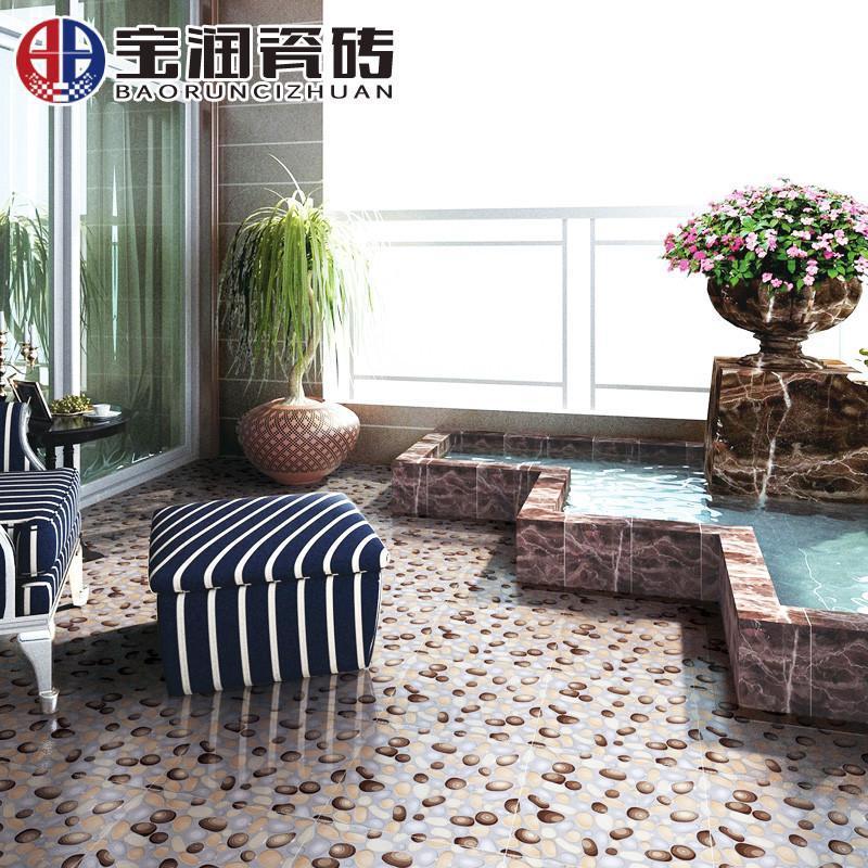 五彩地砖地板砖墙砖卫生间防滑瓷砖浴室瓷片300*300mm阳台地面砖墙面
