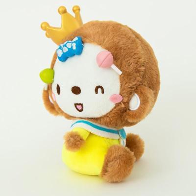 皇冠猴汽车车用毛绒公仔娃娃可爱单个装