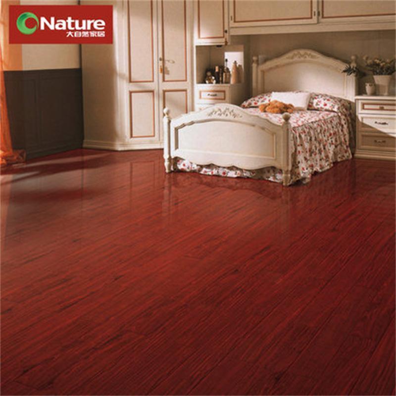 大自然地板 香脂木豆(红檀香)纯实木地板