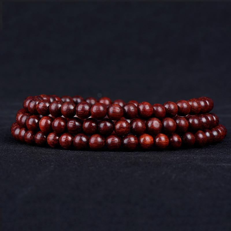 t400 饰品 采用印度进口小叶紫檀 佛珠手串 极品紫檀老料手链手镯图片