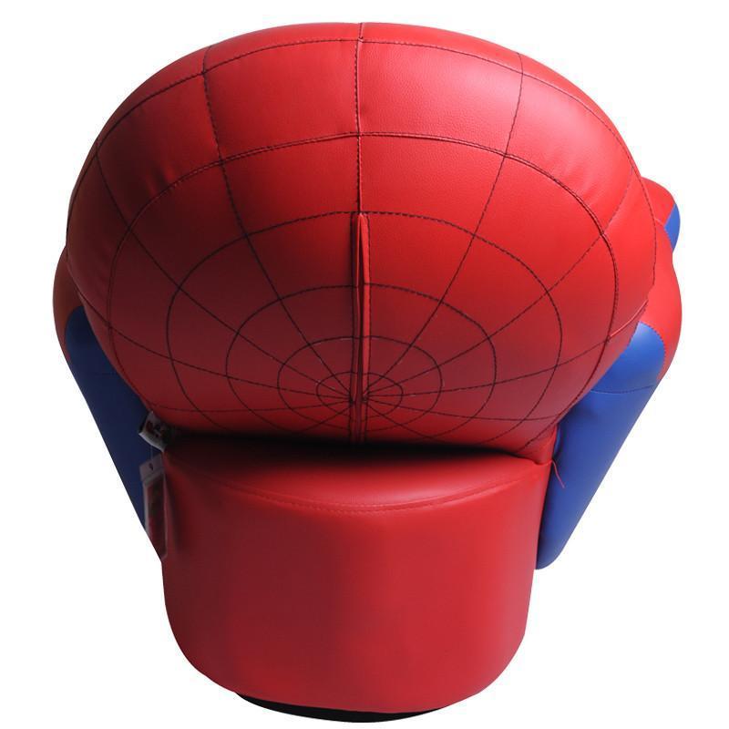 非凡人生 儿童沙发小沙发 可爱卡通蜘蛛侠转椅 宝宝环保小皮凳