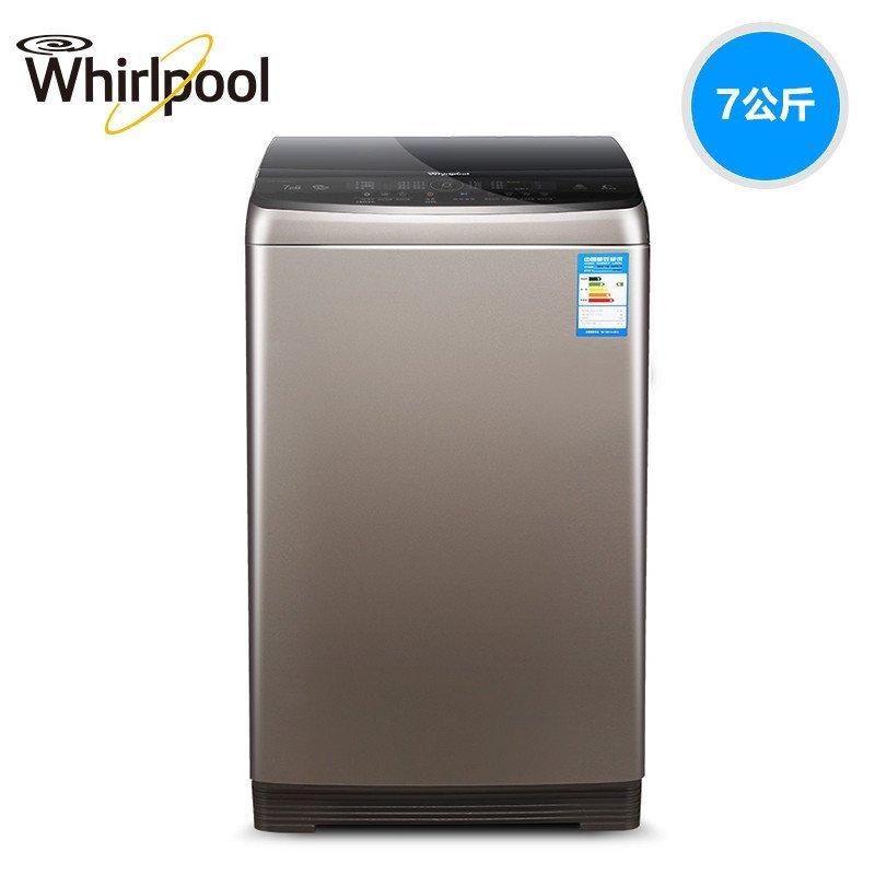 惠而浦(Whirlpool)WB70806BV 7公斤全自动变频波轮洗衣机(惠金色)