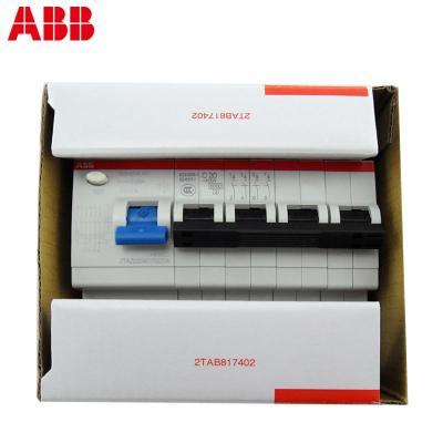 abb触电保护器空开开关三相四线380v4p20a总漏电保护
