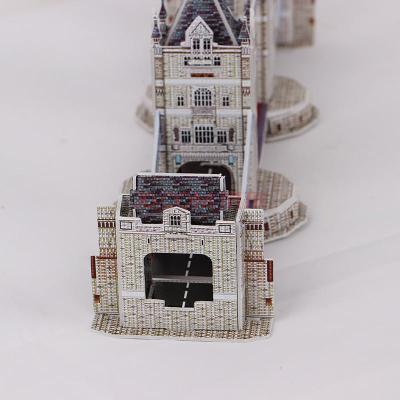 3d立体拼图英国伦敦塔桥双子桥