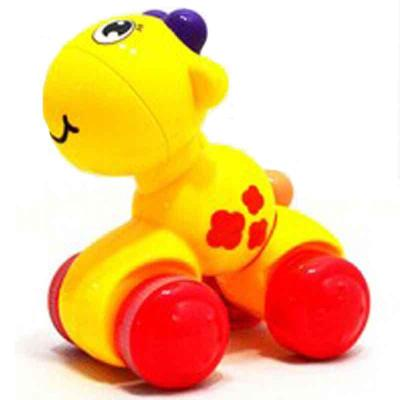 按压小动物车 惯性车 回力车 动物小车 儿童回力车y7