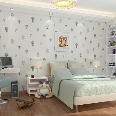 玉兰墙纸欧式田园大花壁纸卧室沙发背景墙温馨浪漫