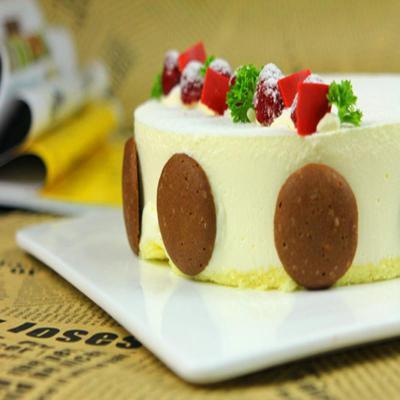 谷物多蓝莓优格 新西兰乳酪蛋糕生日蛋糕 美国进口蓝莓 清爽甜点10寸图片