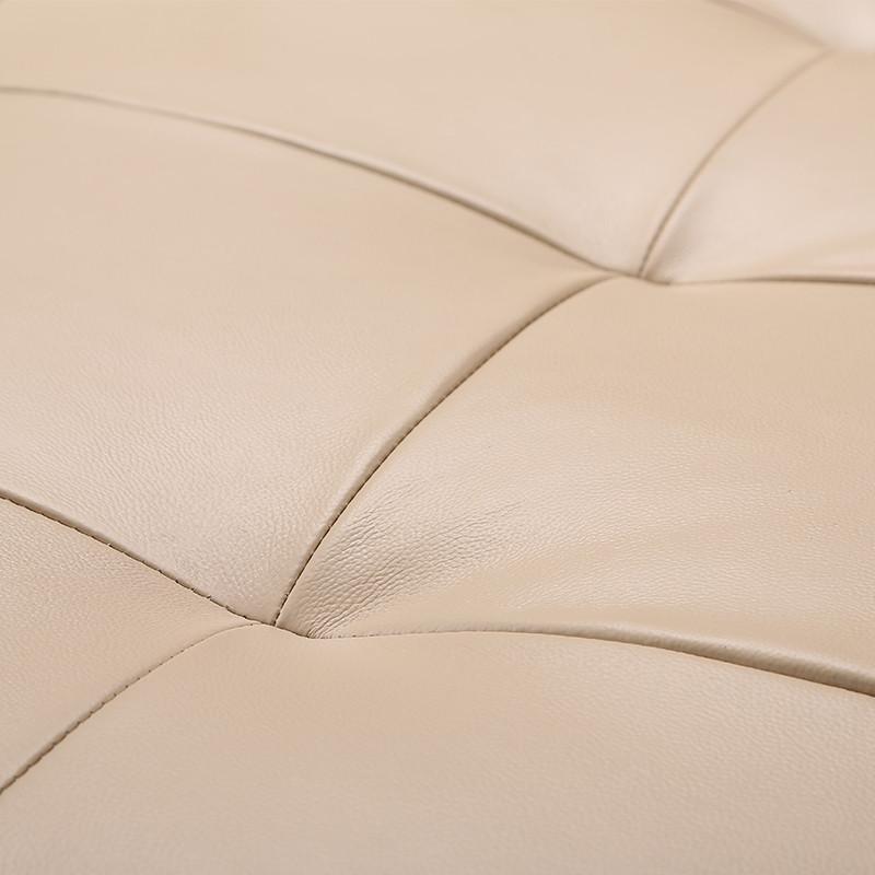 豪现代简约欧式皮布沙发