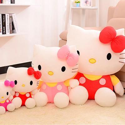 kitty可爱凯蒂猫超萌公仔玩偶抱枕创意生日礼物女