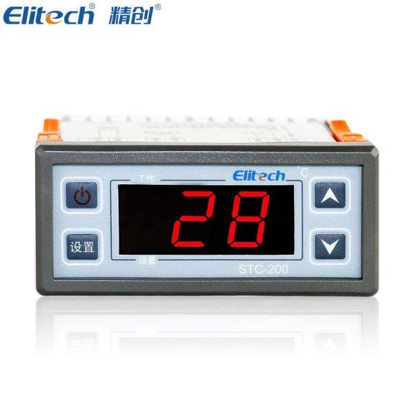 精创温控器stc-200温度控制器温控仪冰箱