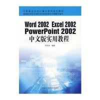 Word 2002 Excel2002 Powerpoint2002中文版