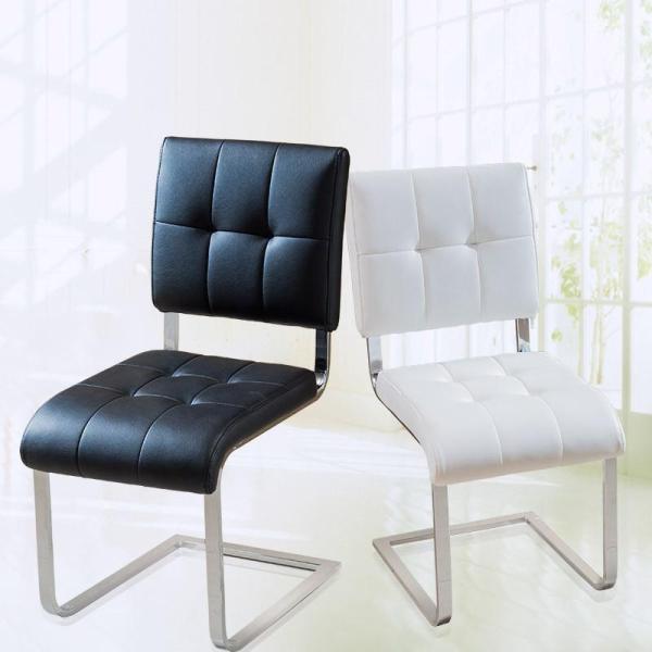 歌万 餐厅椅子凳子 座椅靠背椅子餐椅欧式 时尚简约现代餐椅075
