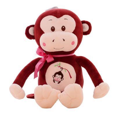 安吉宝贝可爱悠嘻猴毛绒玩具布娃娃玩偶公仔创意情人节生日礼品送女生