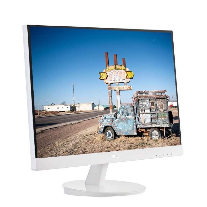 显示器ips硬屏无边框led液晶高清