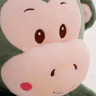 创意情人节生日礼品送女生 100cm酒红色呆萌猴