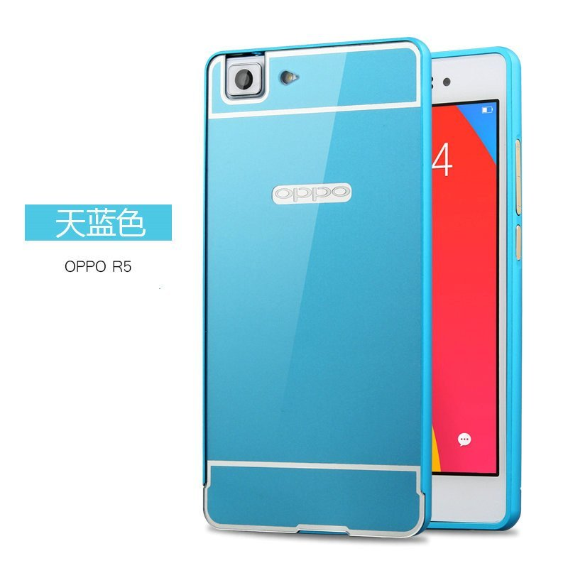 oppo r5金属边框后盖 方形保护壳 oppo r8107手机边框