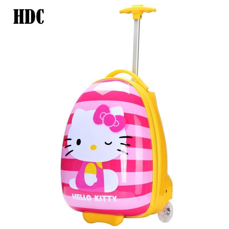 hdc卡通儿童拉杆箱可爱儿童旅行箱16寸学生行李箱可爱卡通图案e-hk16