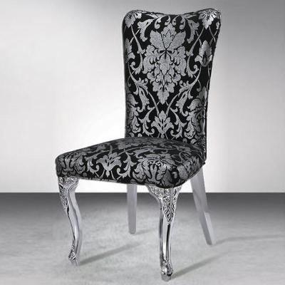 歌万 餐厅椅子凳子 座椅靠背椅子餐椅欧式 高级酒店别墅会所餐椅dc03