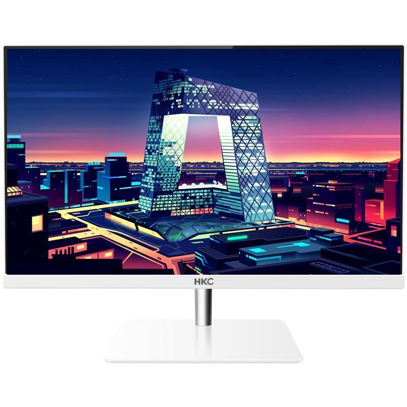 23英寸显示器超窄无边框ips屏幕电脑