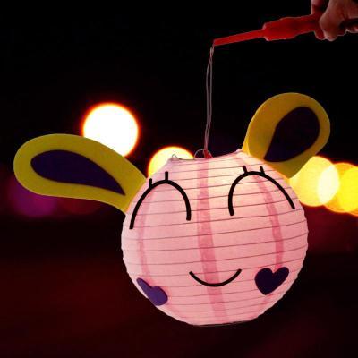 仕彩 新年装饰 小灯笼 手提灯笼 彩灯 创意灯笼 元宵节儿童款灯笼