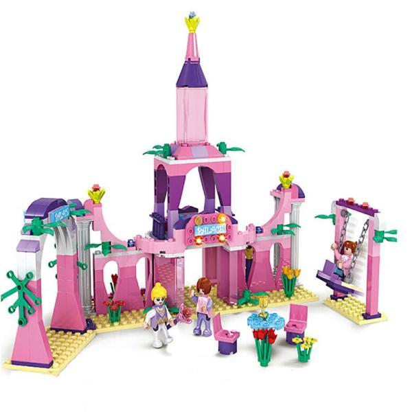 画画大全城堡儿童画-梦想的城堡