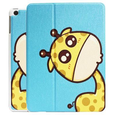 苹果ipad air2卡通彩绘保护套 苹果ipad6超薄皮套 ipad air2平板皮套