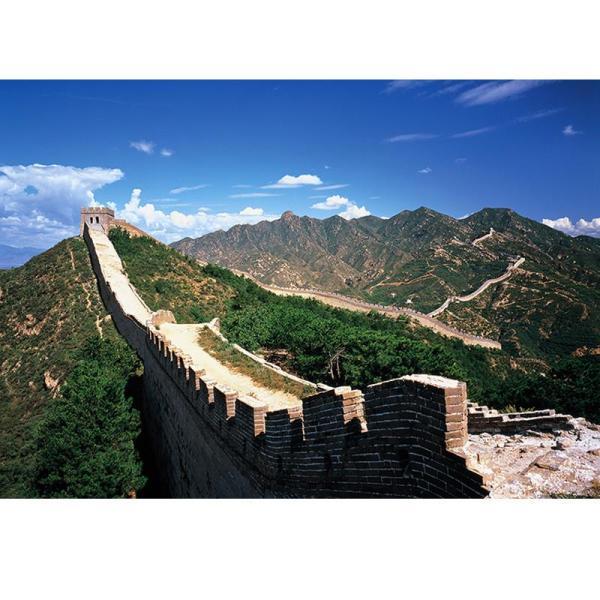 益智高档风景拼图4000片 风景油画 装饰画 万里长城