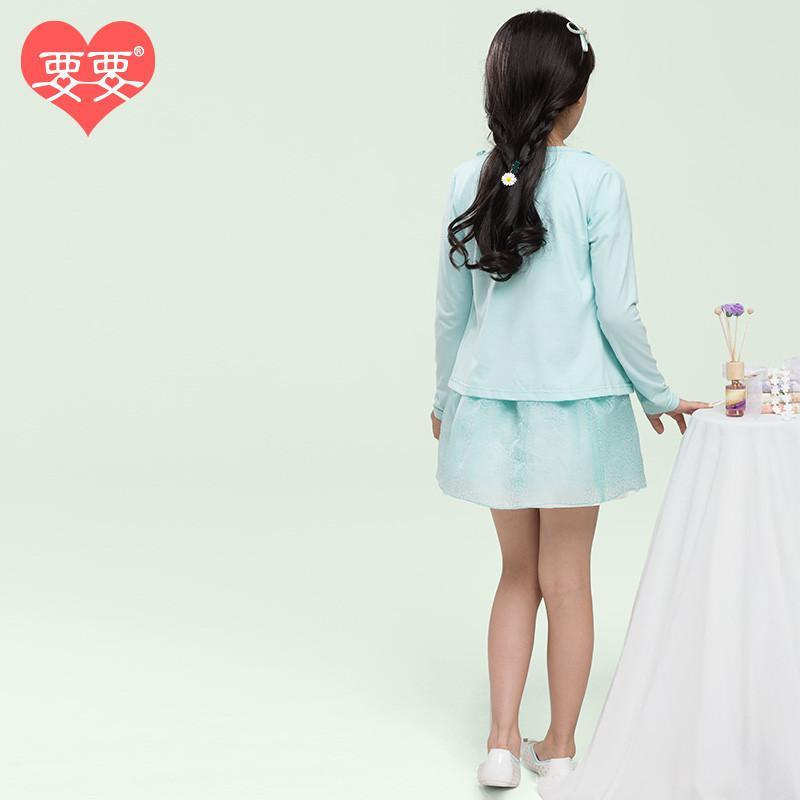 自营要要 女童套裙 童装连衣裙2015春装新款韩版公主裙儿童两件套裙