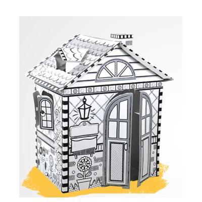手绘游戏屋---美国小屋