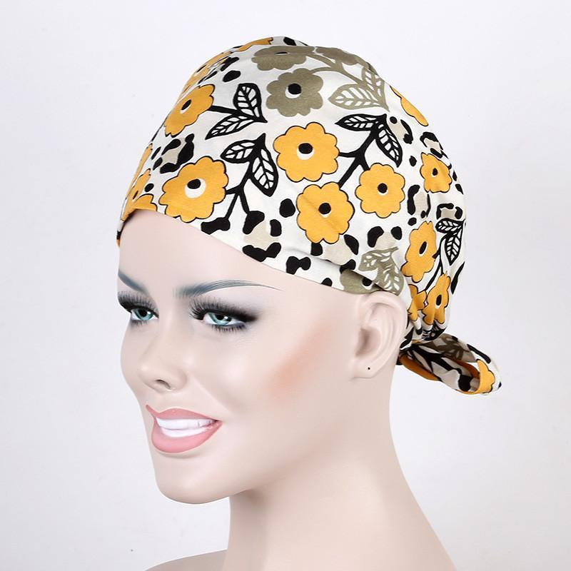 【巧护士帽子 】花色手术帽 彩色手术帽 最萌护士 室