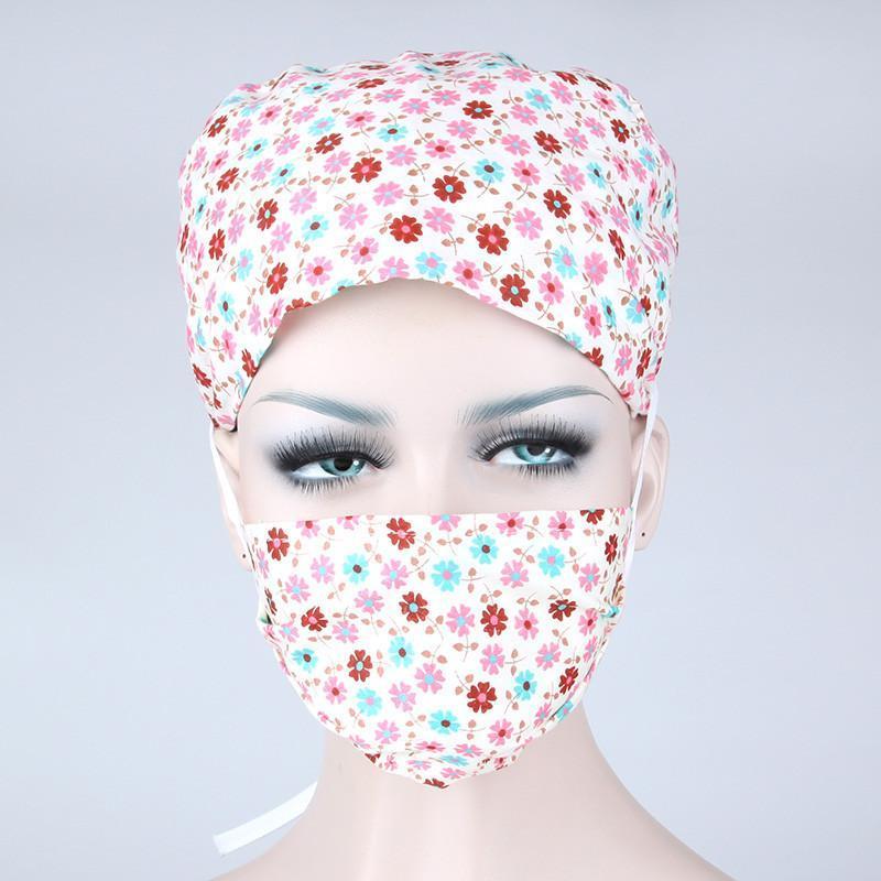 【巧护士帽子 】巧护士 纯色口罩浅蓝色 浅绿色 粉红