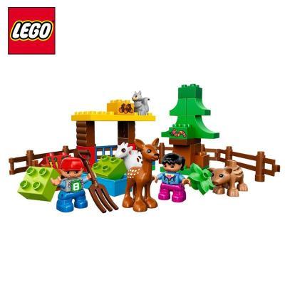 【乐高(lego)堆叠积木】乐高积木小动物们l10582德宝