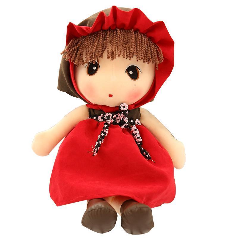 可爱菲儿布娃娃毛绒玩具公仔 红色童话菲儿 40cm