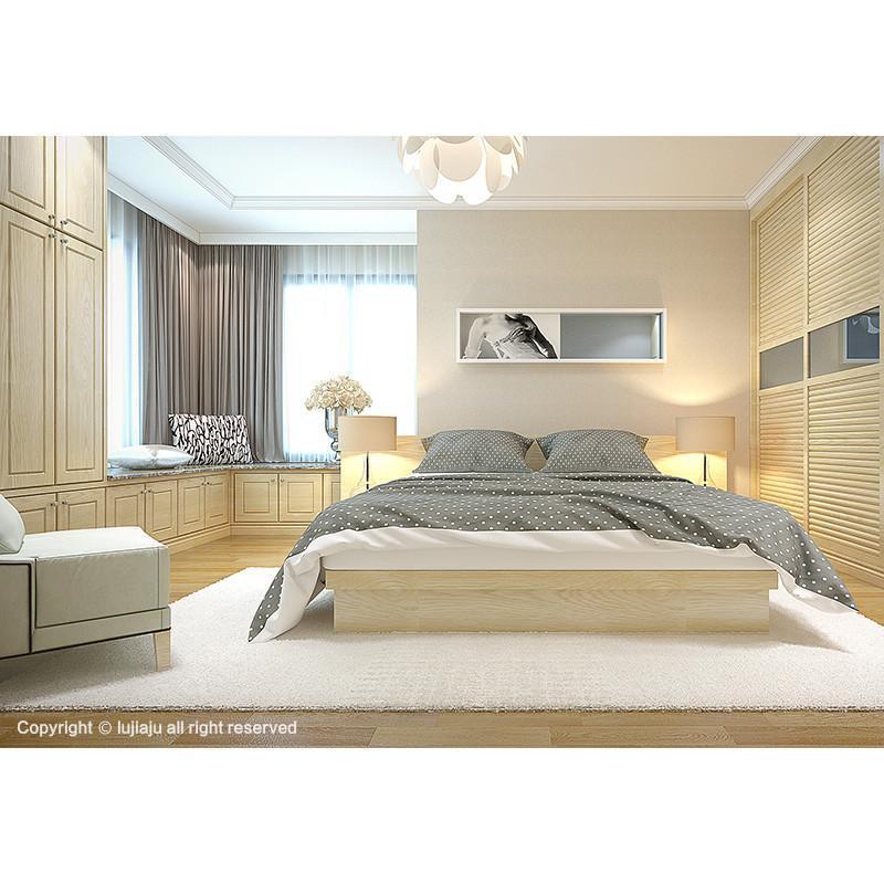 陆家居 成套家具 卧室组合套装 定制整体衣柜 床 床头柜 榻榻米等全屋