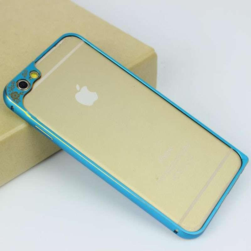 pandaoo 新款苹果6金属边框手机壳iphone6plus 5.