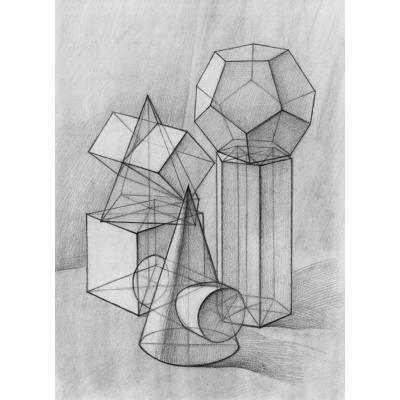 图书 艺术 绘画 素描速写 师说 结构几何体/学院派基础训练 传.