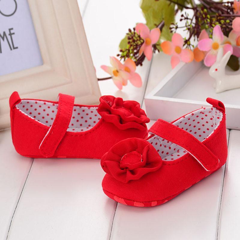 德乐宝 漂亮公主 学步鞋软底婴儿鞋 舒适可爱宝宝鞋全国包邮 红色 11