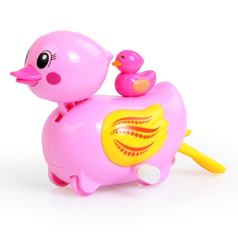 汇乐游乐小鸭子 戏水玩具 婴儿洗澡玩具鸭 发条玩具 玩具鸭