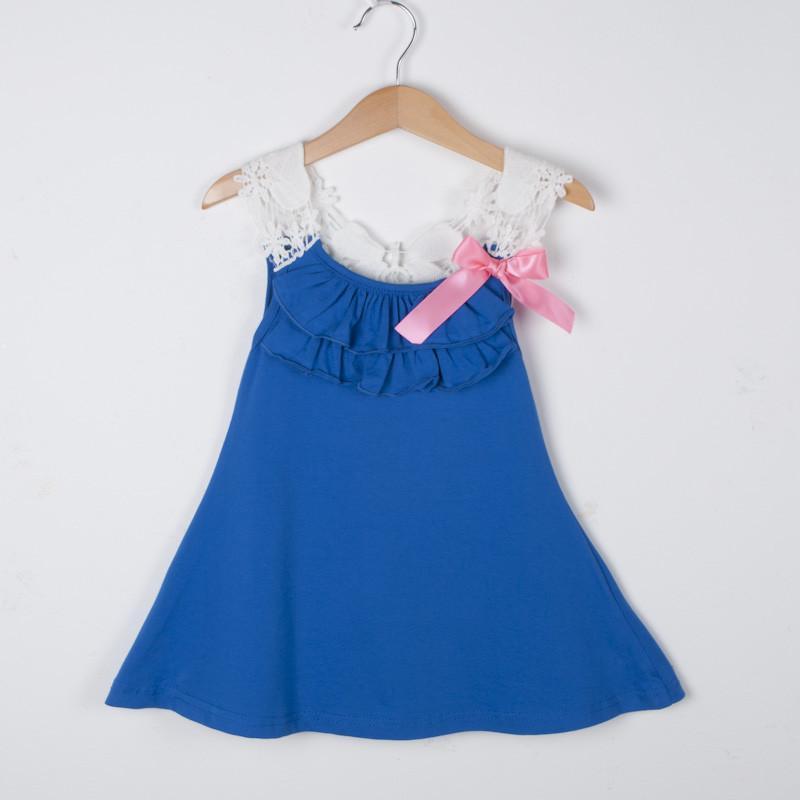 亦潮2015新款韩版夏季小孩裙子 儿童吊带背心裙 女童连衣裙沙滩裙夏装