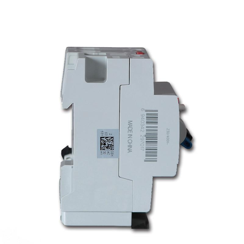 abb触电保护器空气空开开关双极双线正品2p20a总漏电