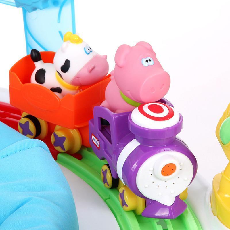 自营美国小泰克 littletikes 635984m 宝宝益智玩具 儿童蹦跳欢乐园